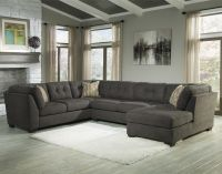 Delta City - Steel 3-Piece Modular Sectional with Right ...