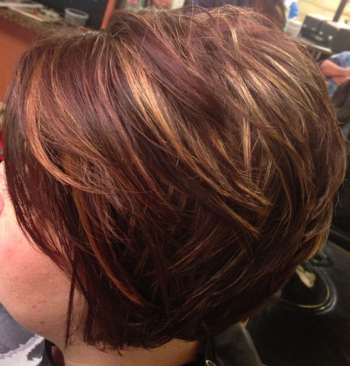 Fresh Short Hairstyles With Color And Highlights Hairstyle Ideas