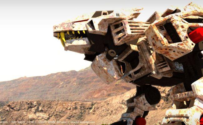 Zoids The Movie Liger Zero 02 By 3draptor On Deviantart