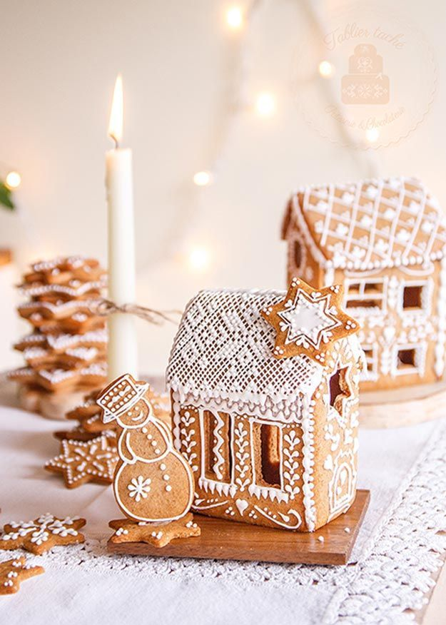 Charmingly Cute Gingerbread House Ideas En Hiver Dents Et