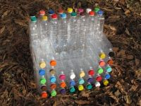 chair from plastic bottles | Trash to treasure, Furniture ...