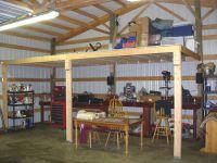 How to Frame a Loft   Loft in pole barn? - General ...