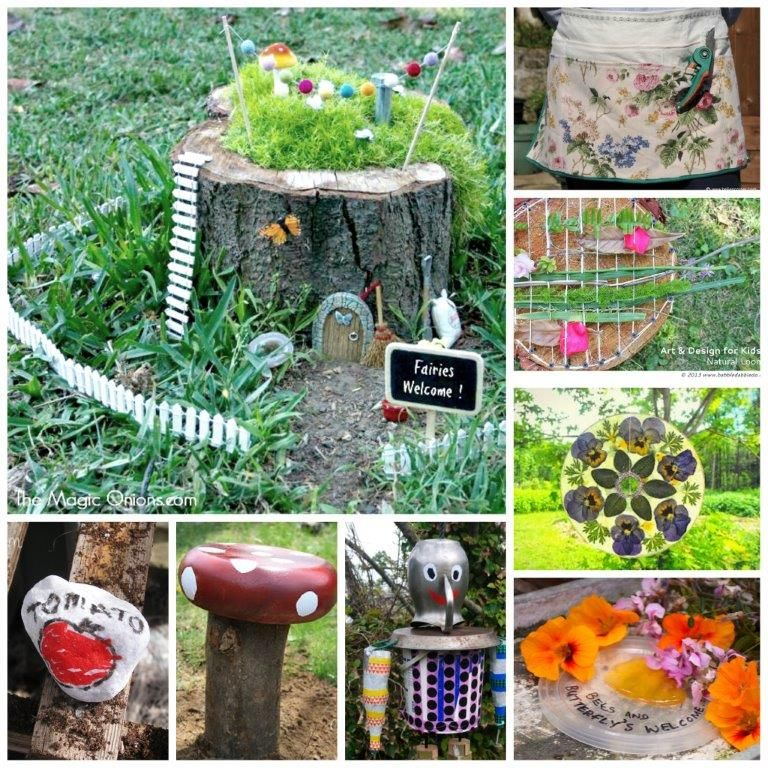 Garden Crafts Challenge Get Your Craft On Gardens For Kids And