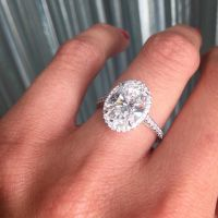 Tiffany Soleste Oval Engagement Ring