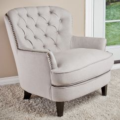 Tufted Accent Chairs Small White Chair Home Loft Concept Jerome Club And Reviews
