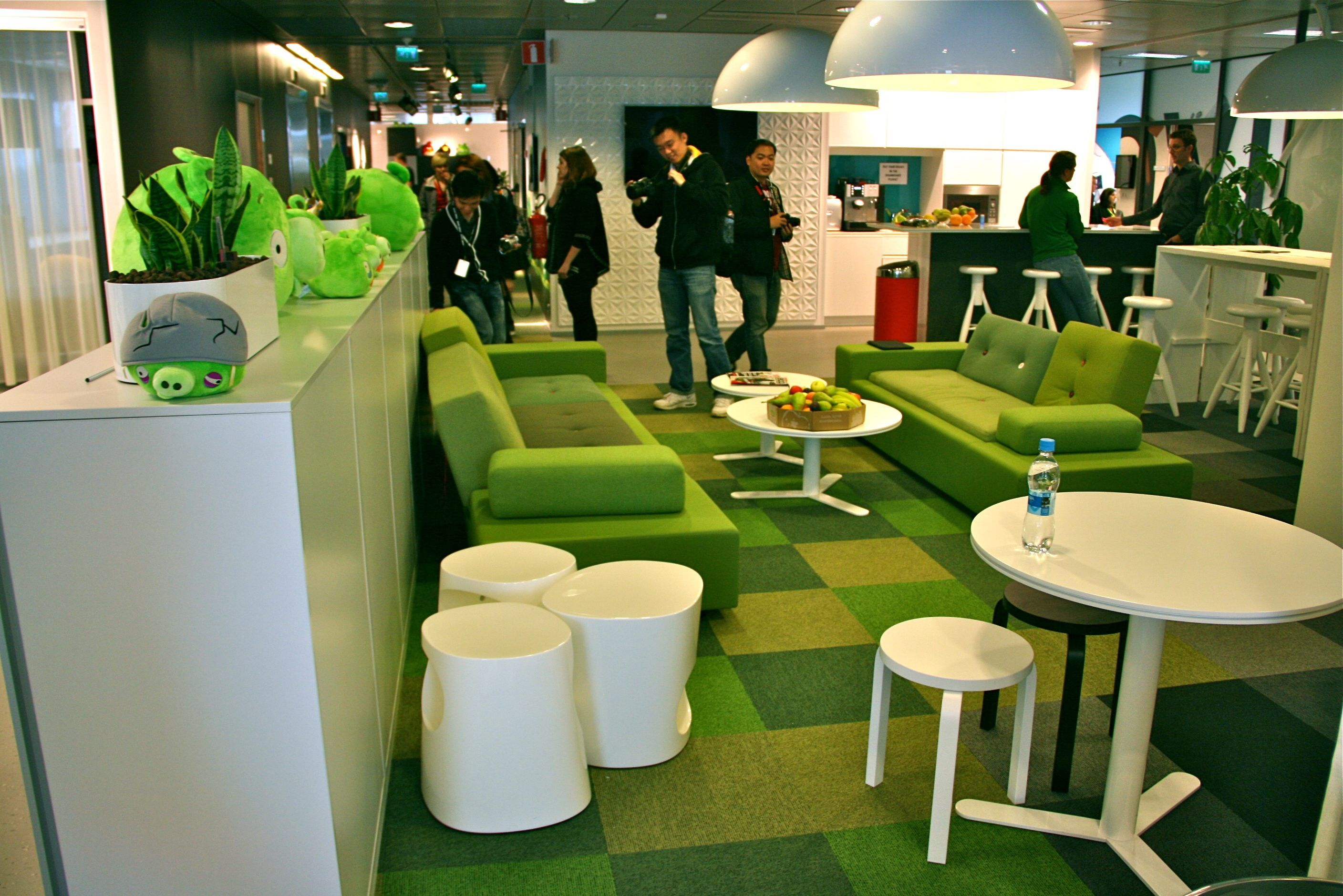 Angry Birds Office In Us Great Idea For Chill Out Area