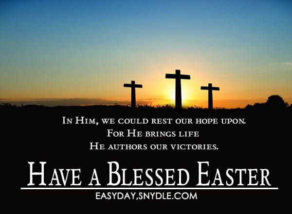 christian easter messages quotes