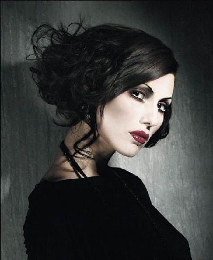 Gothic wedding  hair and makeup  gothic wedding