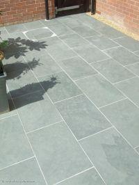 Grey Blue Brazilian Slate Paving Patio Garden Slabs Tiles ...