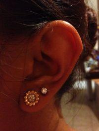 Second Hole Piercing on Pinterest | Second Ear Piercing ...
