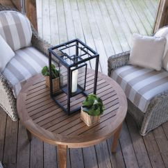 Frontgate Outdoor Lounge Chairs Office Chair Casters For Wood Floors The Eclectic Style Is Shown Here With Summer