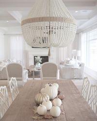 @jshomedesign- Ro Sham Beaux chandelier, white beaded ...