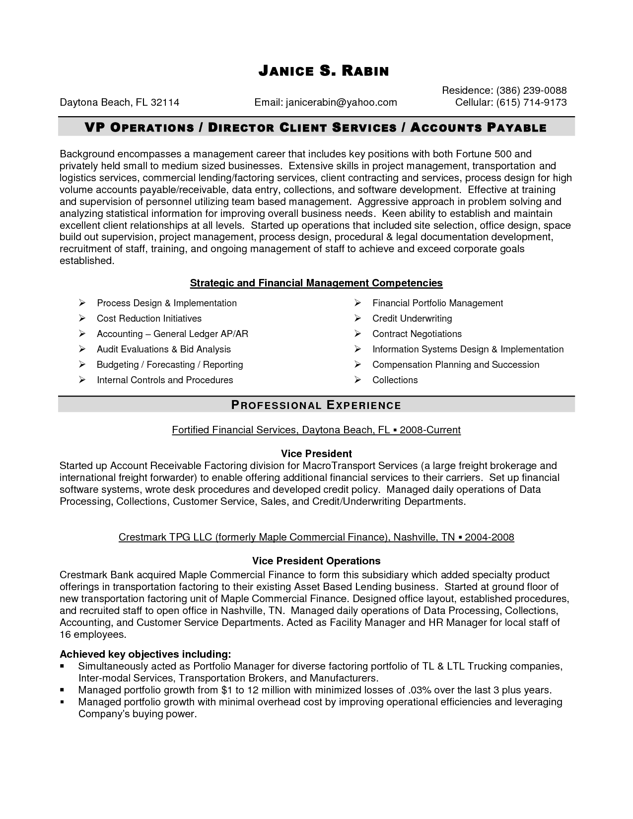 Senior Management Resume Templates Senior Logistic Management Resume Senior Logistics