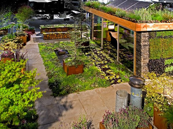 Roof Garden Ideas Tips Native Garden Design Green Living Roof