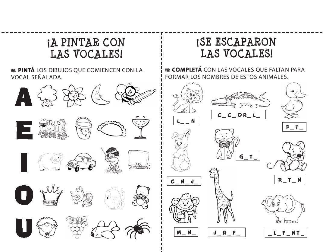 20 Fichas De Lectoescritura Para Imprimir Y Trabajar Con Ninos De Infantil Y Primaria