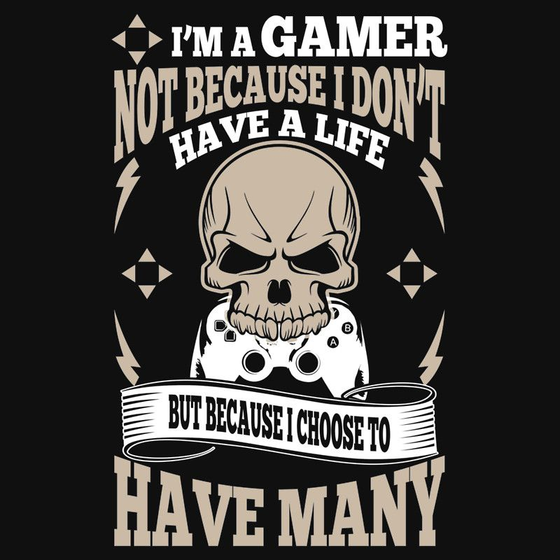 I Have Have Not Gamer Life Im Because I Dont Choose Many I