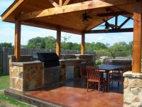 Best Covered Wood Patio Structures | Back yard ideas ...
