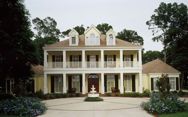How Antebellum Plantation Homes Looked Like