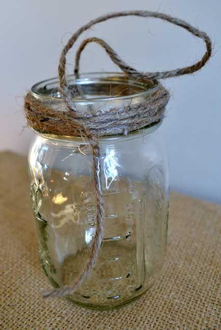 Hanging Mason Jar Tutorial Make Pinterest More
