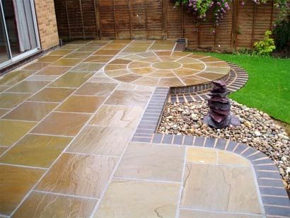 Patterns For Stone Patios Stone Reconstituted Stone And Concrete