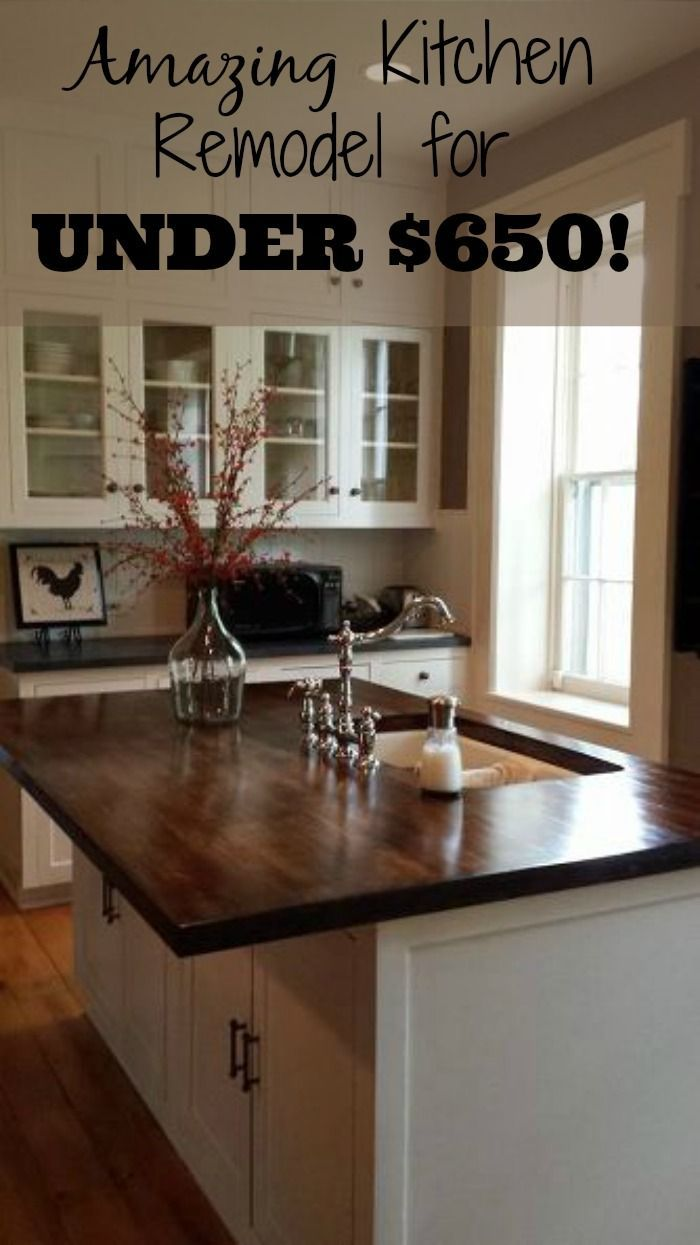 DIY Kitchen Makeover For Under 650! Budgeting Kitchens And