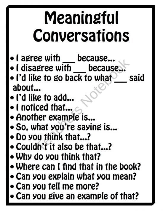 Classroom Discussion Posters product from Dr-Noahs-Shop on