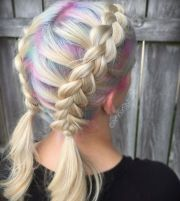 colorful roots newest hair