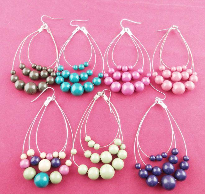 Beaded jewelry jewelry fashion bead earring r080