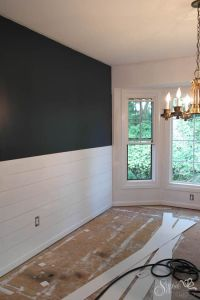 DIY Shiplap Inspired Wall Tutorial: An Easy and ...