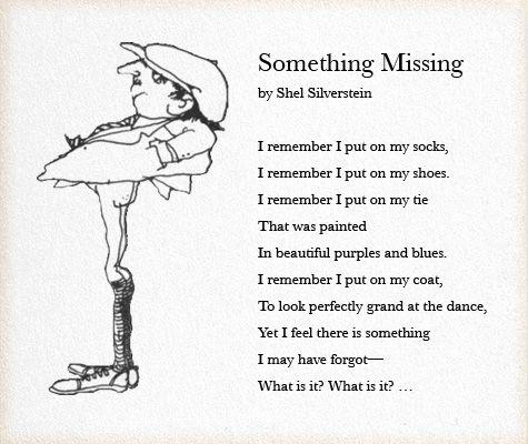 Shel Silverstein...outstanding children's poetry author