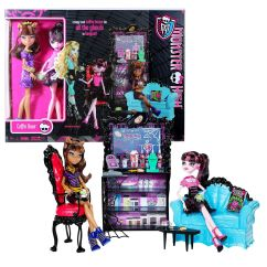 Monster High Bean Bag Chair Best Place To Buy A Coffin Gift Set Clawdeen And Draculaura
