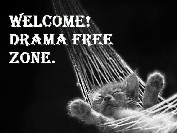 Welcome Drama Free Zone! Well Said ツ Pinterest