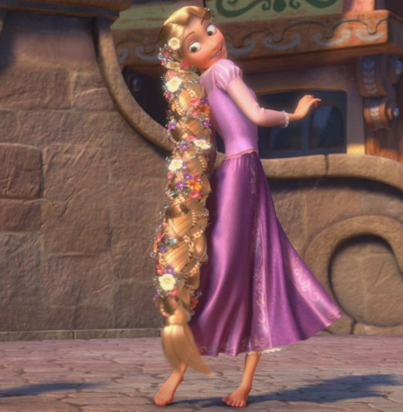 Tangled Disney Princess Rapunzel Hairstyles Countdown Rapunzel