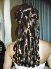 quinceanera dama hairstyles fade