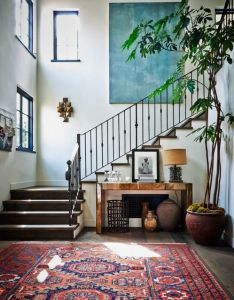 Carmelina foyer eclectic modern by alexander design tap the link now to see where world   leading interior designers purchase their beautifully crafted also lovely spaces rh pinterest