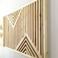 Wood Wall Art Rustic Wood Art reclaimed wood by ...