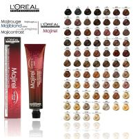 Loreal Feria Color Chart Dark Brown Hairs Of L'oreal Hair ...