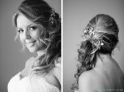 side swept wedding hairstyles long