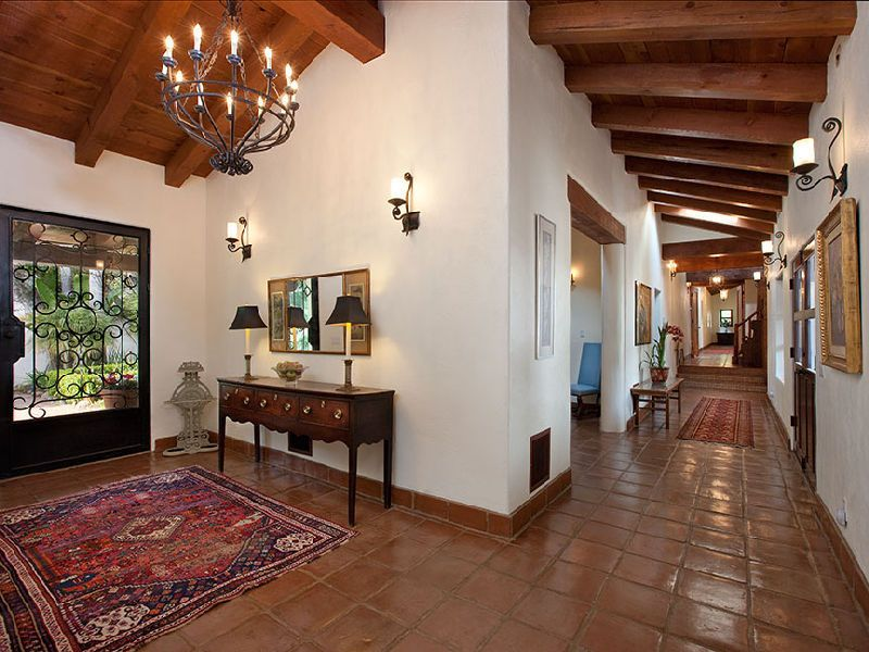 Spanish Mediterranean Hacienda Style In Santa Barbara CA