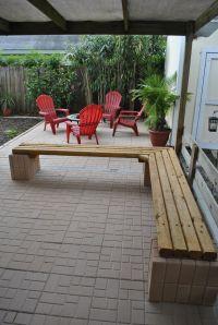 Diy Outdoor Corner Bench Cheap outdoor landscape timber ...