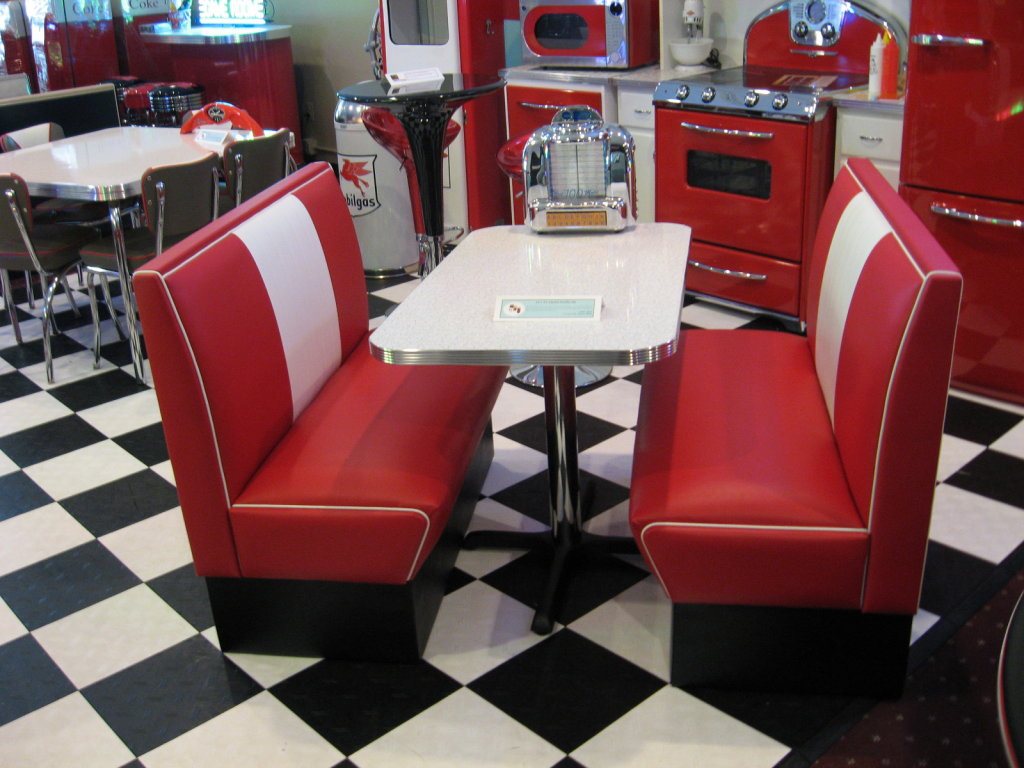 kitchen table and chairs set with booth viking chair design diner perfect for our coca cola