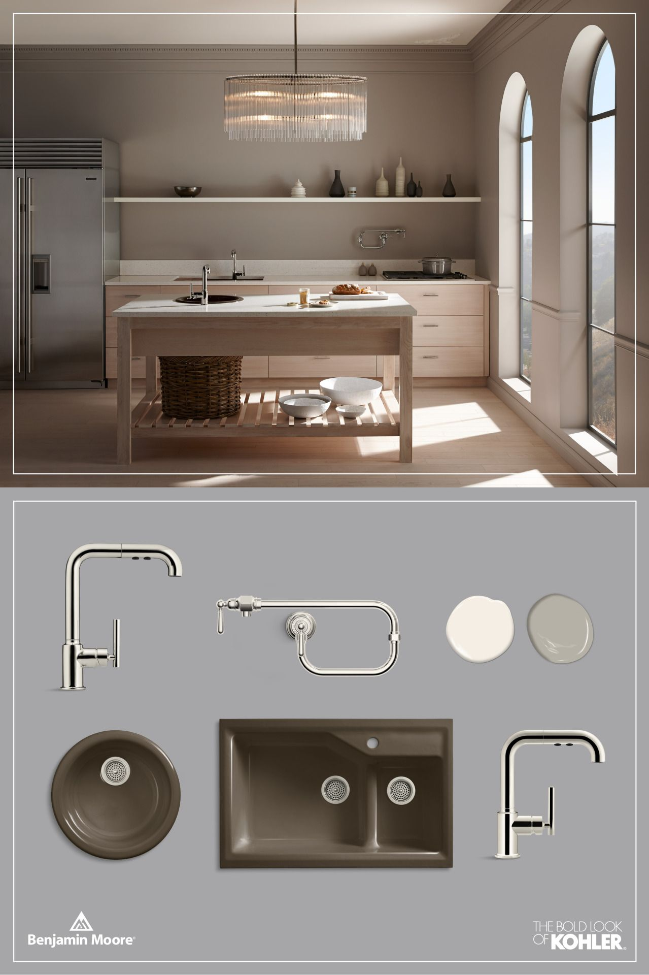 purist kitchen faucet costco cabinets kohler product bar