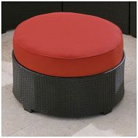 Wilson & Fisher Melrose Cushioned Ottoman at Big Lots ...