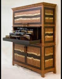 How To Build Your Own Gun Cabinet?: Wooden Gun Safe Plans ...