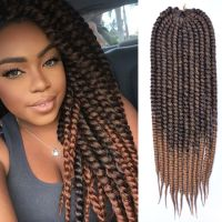 3 pack Havana Mambo Twist Crochet Braid Brown Ombre ...