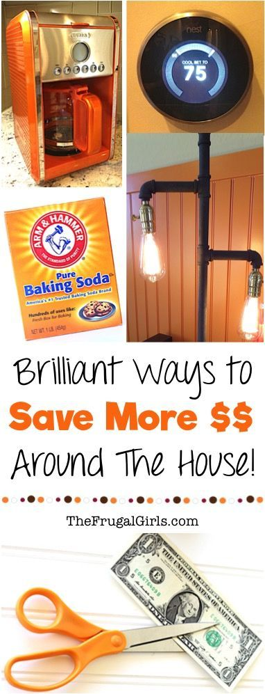 Saving Money Tips And Ideas! Brilliant Frugal Living Hacks To Save