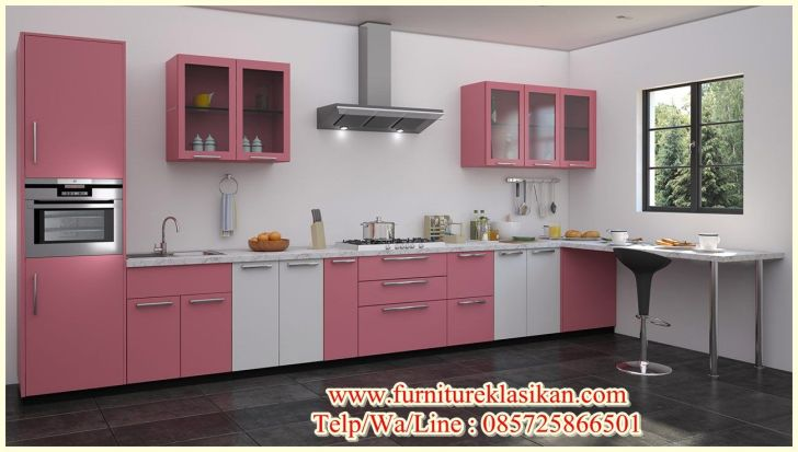 Kitchen Cabinets: Gambar Desain Kitchen Set. Full Hd Gambar Desain Kitchen Set Of Desktop Set Jati Minimalis Deskripsi Produk