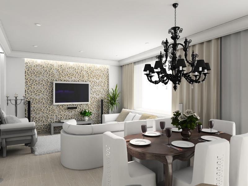 Feng Shui Dining Room Interior Design With Elegant