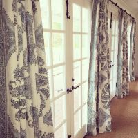 Window Treatments | Curtains | Drapery | French Doors ...