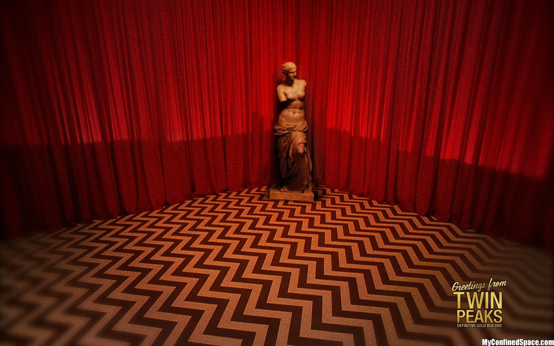 greetings from twin peaks  the red room  twin peaks  Pinterest  Red rooms Twins and David lynch